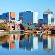Wilmington DE skyline